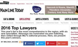 Top Personal Injury Lawyer